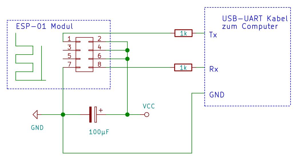 ESP8266 und ESP8285 Module Starter Anleitung