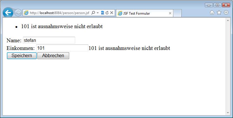Web Anwendungen mit JSF 2
