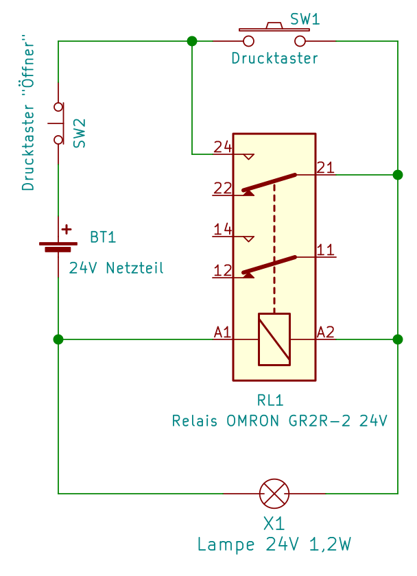 Schaltplan Symbol Lichtschalter