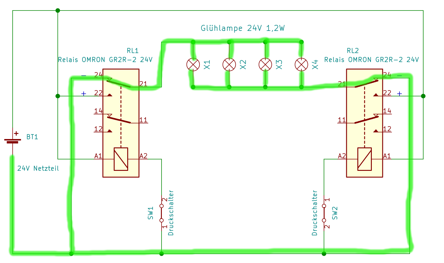wechselschaltung fur 2 lampen wiring diagram. Black Bedroom Furniture Sets. Home Design Ideas