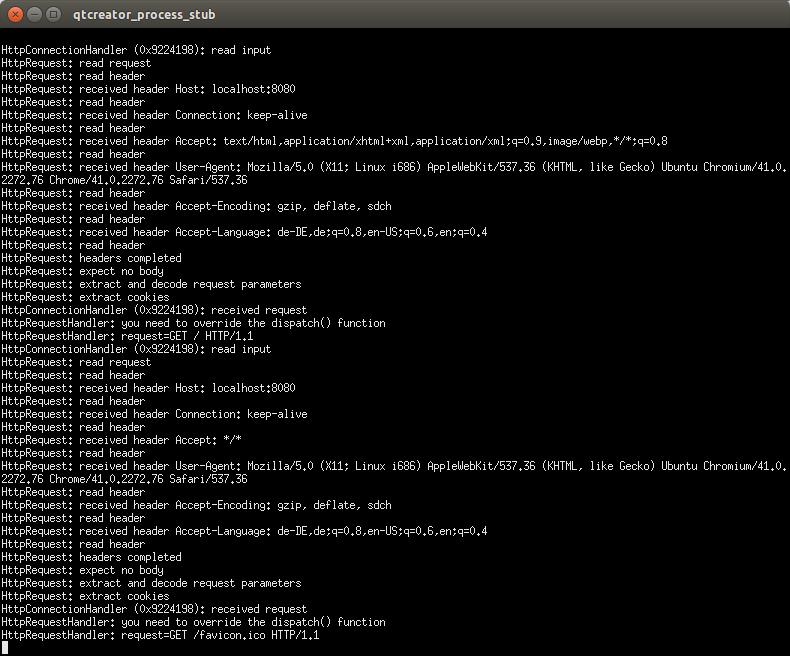 Writing web server applications with QtWebApp