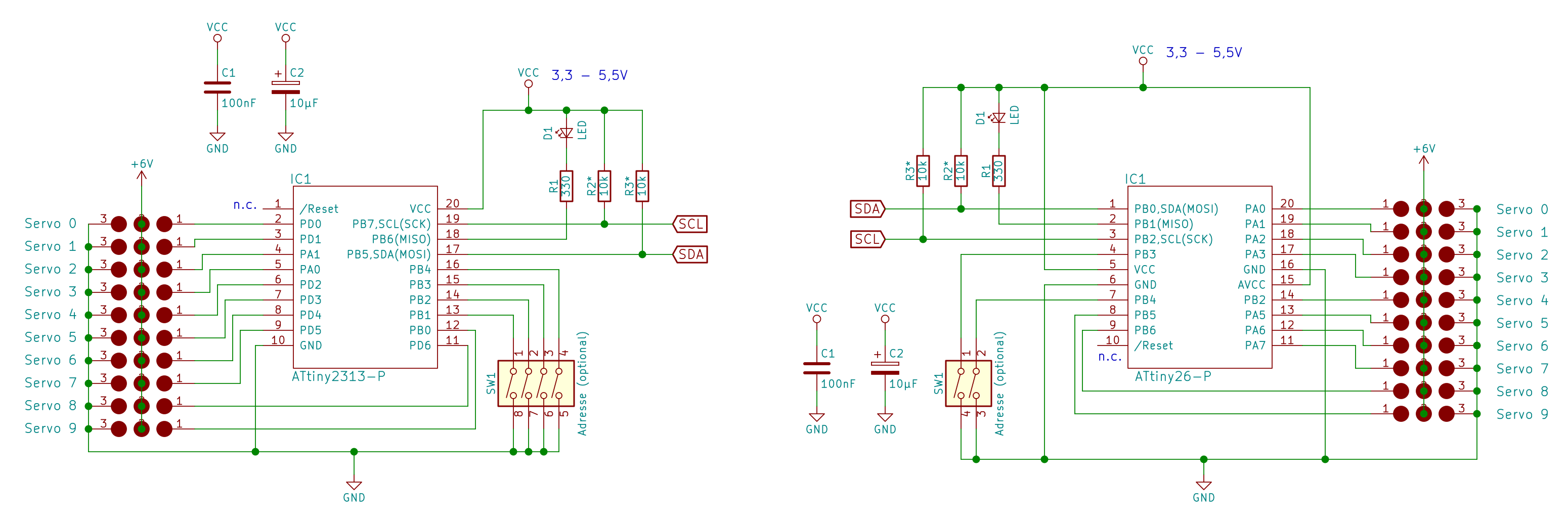 Servo Controller Mit Ic Controlling Circuit Sie